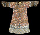 Manchu Woman's Semiformal Court Robe