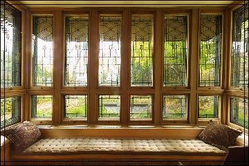 Windowseat purcell-cutts tour > window seat - fourteen-foot window seat runs